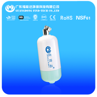 Patent In-Line Chlorine & Heavy Metal Treatment Head Nano-silver Activated Carbon Filter Water Softener High Performance
