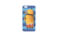 stylish minions cute silicone phone case for iphone 6/6s
