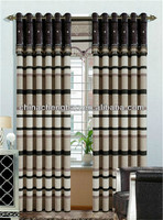 Latest curtain designs blackout cafe curtain with magnetic strip