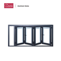 Shanghai Echome construction aluminium kitchen sliding and bi folding glass window