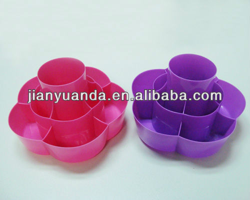 Promotional plastic beauty case for ladies