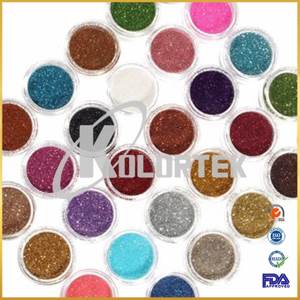 Top quality cosmetic grade glitters manufacturer, private label loose glitter