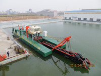 1200 cbm/h River sand cutter suction dredging machine equipment for sale