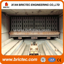 High advanced technology clay brick tunnel kiln for brick making factory