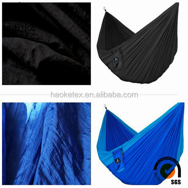 tearproof waterproof hammock fabric / yoga hammock material / bean bag fabric