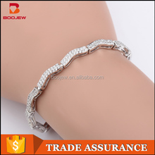 2015 sun pattern Power bracelet wholesale energy balance silver bracelet for women