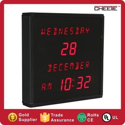 Decor New Date Calendar Time Display Digital Wall Desk Calendar Clock