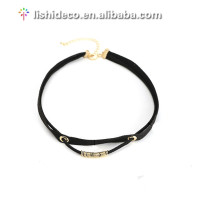 2017 Simple Black Velvet Choker Necklace