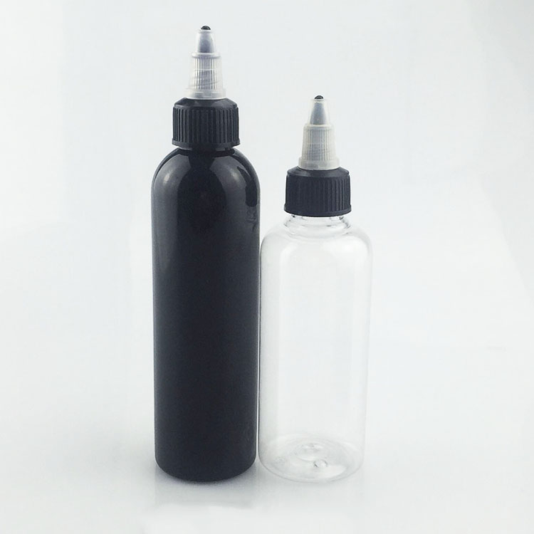 new products pen shape e-liquid shiny matte black clear plastic bottle 120 ml screw cap