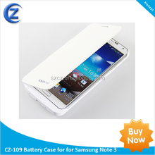 High Capacity 4200mAh cell phone cases backup power bank external battery charger case for Samsung Galaxy Note3 N900