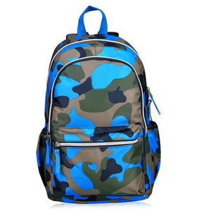 Wholesale fashion high school camouflage backpack