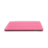 New Products Magnetic Ultra thin PU Leather Smart Cover Case For iPad 3 slim plastic hard pc cover for iPad case