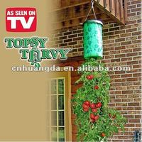 Hanging tomato planter bag