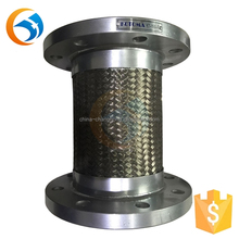Flexible stainless steel vacuum bellow hose expansion joint