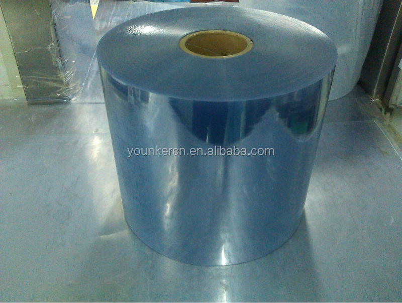 China hot sale pvc rigid sexy super clear blue film