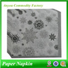 Classical christmas paper napkins for manufacturer, hotel decoration tissue paper