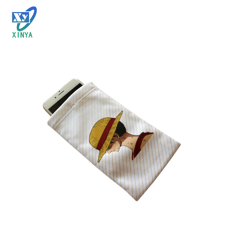 Best quality magnetic shielding microfiber phone pouch