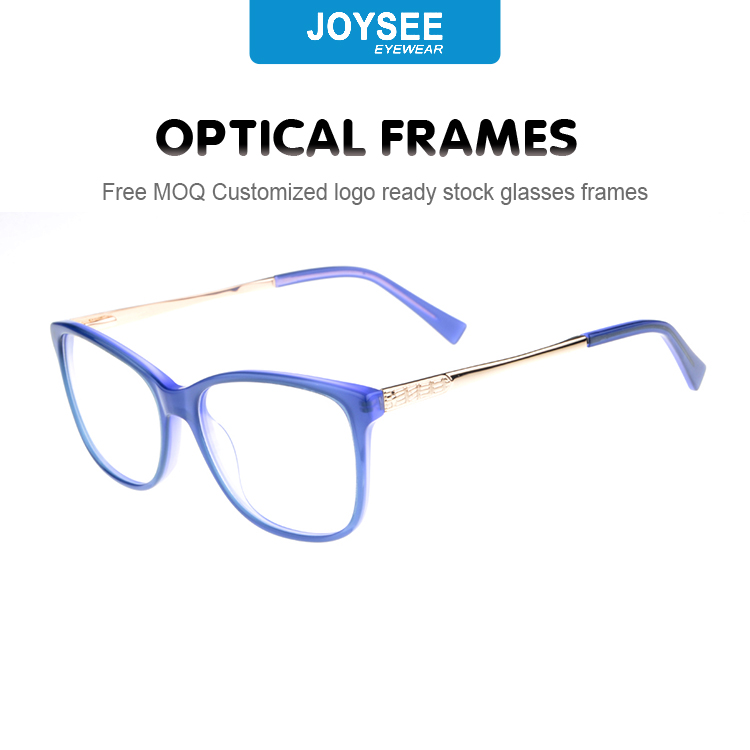Colorful and Hot Selling Acetate with Spring Hinge Optical Frame
