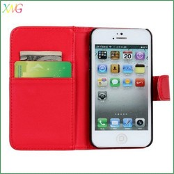 PU Leather Durable Flip Pouch Case Cover,Wallet Card Holder phone case for iphone 6