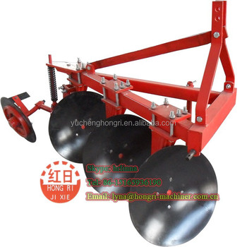 Small tractor mounted high quality 1LYQ-320 disc plow