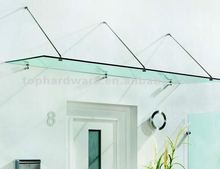 sliding door awnings,used door awnings,glass awnings canopies