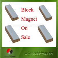 Strong neodymium Block magnet, N35 strong neodymium magnet hot on sale
