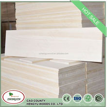 paulownia triangle wood battens for furniture