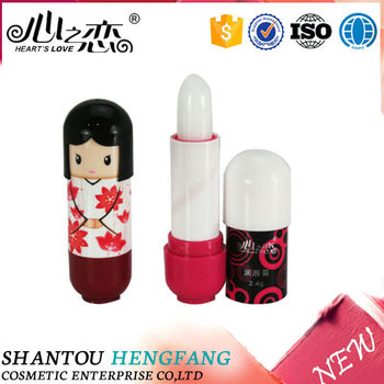 New design hot selling name brand lip balm