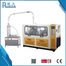 RUIDA China Manufacturer Supply Disposable Paper Coffee Cup Making Machine Prices