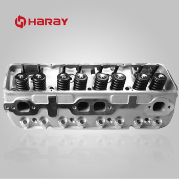 Aluminum Complete Cylinder Head for Chevy 350 V8 Engine