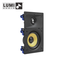 5'' Frameless Kevlar type woven cone woofer Titanium dome tweeter Home Theater In Wall Speaker Wall Mount Mini Speaker