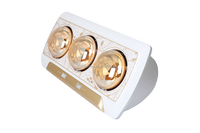 Wall mounted infrared golden lamp bathroom Heater / LSA650