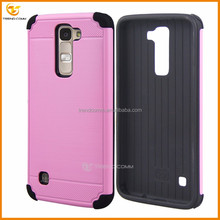 new fashion protective combo hard back phone cover case for LG K7