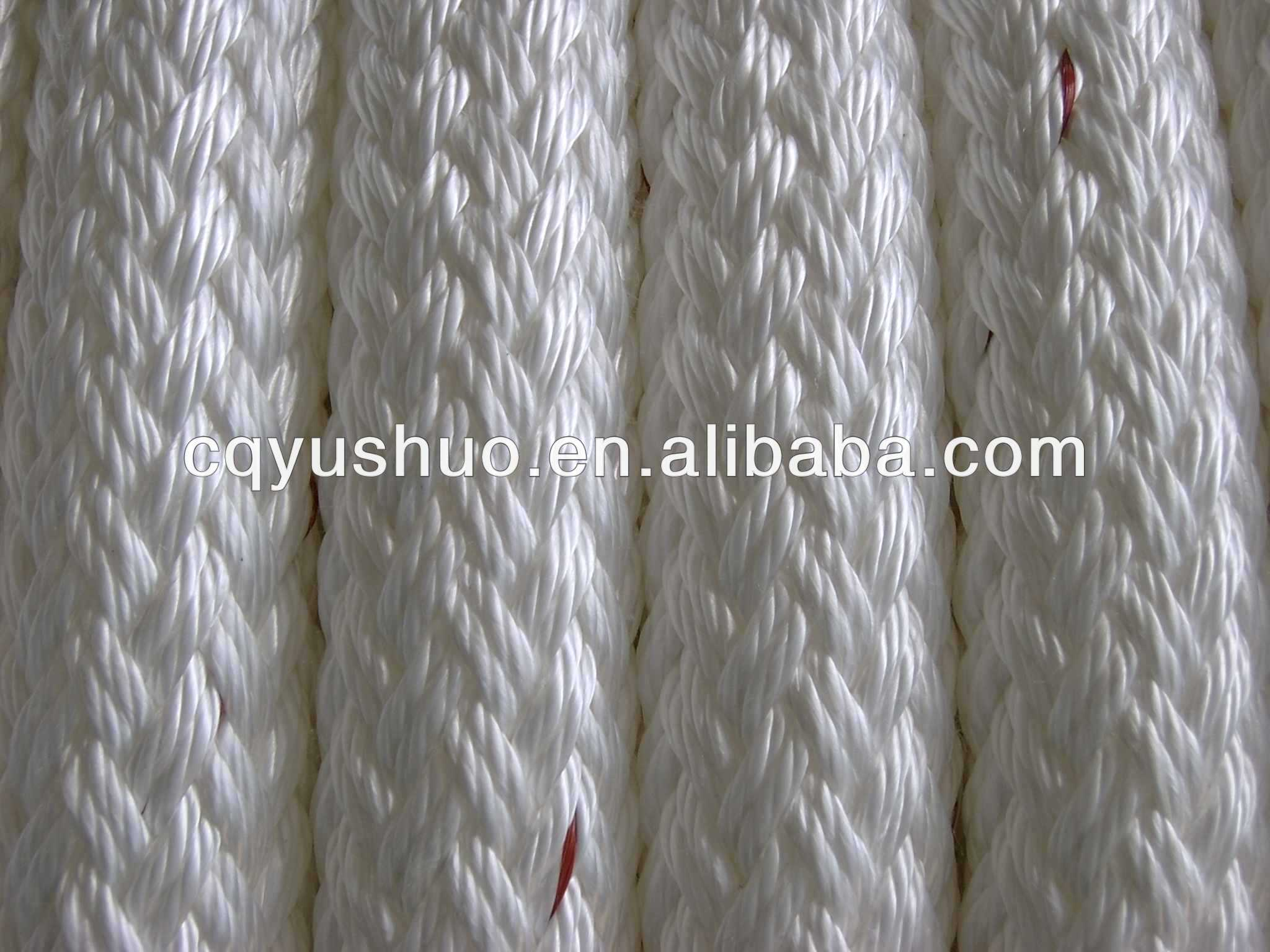 Marine Ship UHMWPE Braided Mooring Towing Rope
