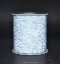 120d/2 soft polyester reflective embroidery thread for clothing