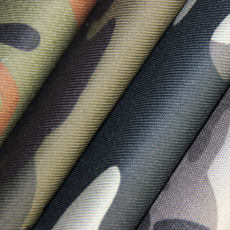 polyester/cotton military multicam fabric for clothing
