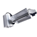 Garden 1000w HPS Double Ended De Adjustable aluminum reflector