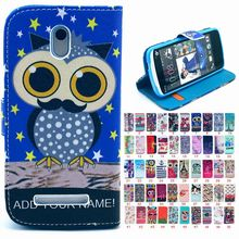 Custom Cell Phone Luxury High Quality Pu Leather Case For Alcatel One Touch Fierce