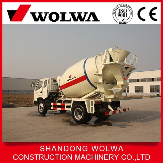 low price china factory supply 2CBM small concrete mixer truck