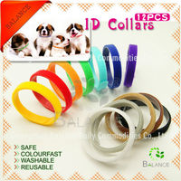 soft colorful puppy ID collars for part-time business