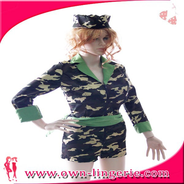 Wholesale high quality party women military pilot costume