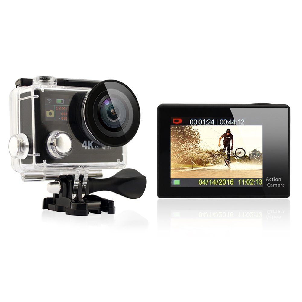 Dual Screen H8R WIFI 4k wifi action camera high quality H8R HOT SALE MODEL wifi action camera