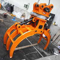 high quality lower price forest rotating Grapple for 20ton Excavator