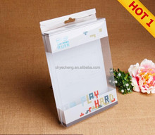 high quality wholesale clear custom-made clear pvc small plastic triangle storage box