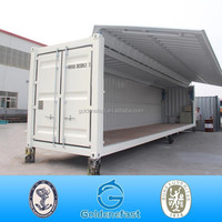 ready open side door container shipping container