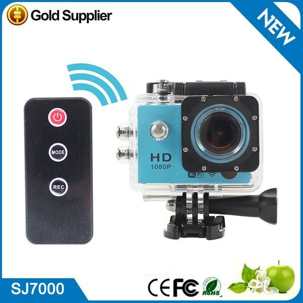 SJ7000 for Gopro Style 1080P Full HD Helmet DV Camcorder 30M Waterproof Diving wifi Sport Camera Remote Control