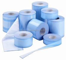 hospital Device Packaging Plastic/Sterilization / Flat Fterilization Roll/ Reel Dual sterilization pouches