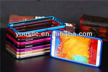 Aluminum Bumper Metal Button Slider Mobile Phone Hard Case for Samsung Galaxy Note 3 N9000