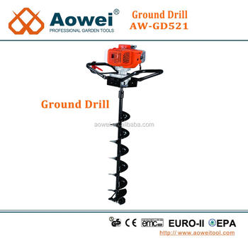 gasoline power drill ground drilling machine digging tools
