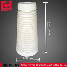 95 al2o3 pipe isostatic pressed alumina ceramic insulator